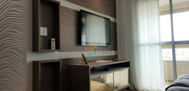 Apartamento com 2 dormitórios para alugar, 76 m² por R$ 3.000,00/mês - Tupi - Praia Grande - Foto 14