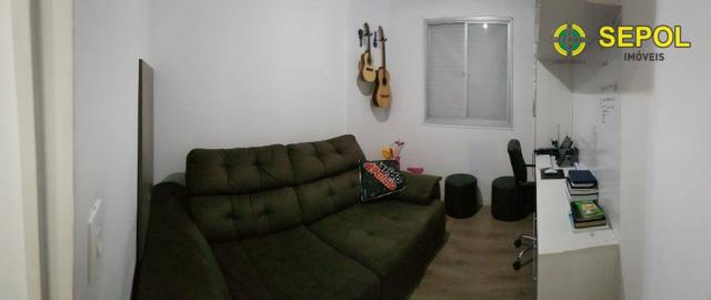 Apartamento com 3 dormitórios à venda por R$ 360.000,00 - Vila Carrão - São Paulo/SP - Foto 5