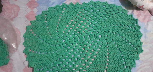 Tapetes de croche - Foto 5