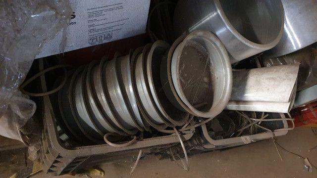 Queima de estoque! Vendem-se vários repuxos de alumínio para confecção de luminárias - Foto 6