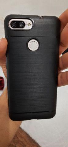 Smartphone zenfone max plus  com fone hardset inova   - Foto 5