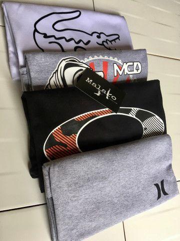 4 camisas por R$100,00