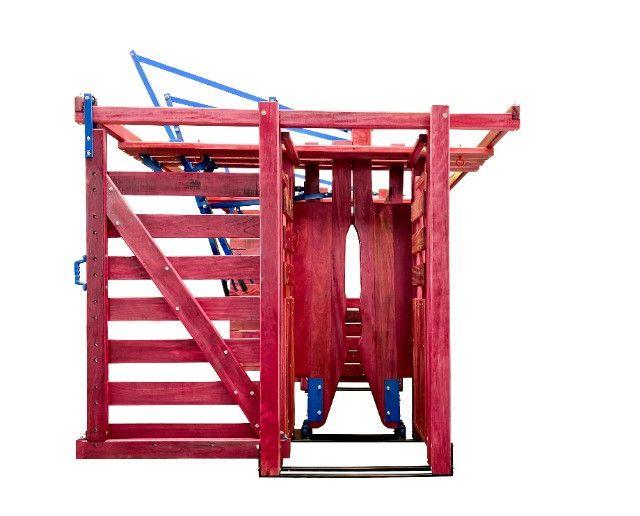 Tronco de contenção bovino (Brete) - Foto 2