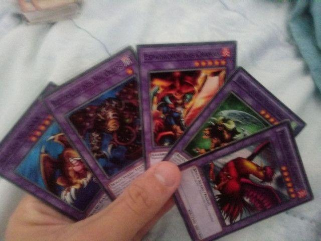 Lote 570 cartas da era classica yu-gi-oh