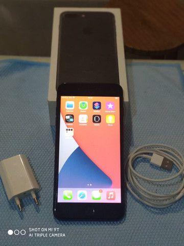 Iphone 7 plus 32gb. em perfeito estado, funciona tudo, aceito trocas e propostas - Foto 3