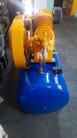 Compressor Schulz, 30 pés, 350 litros, ótimo estado, trifásico. - Foto 2