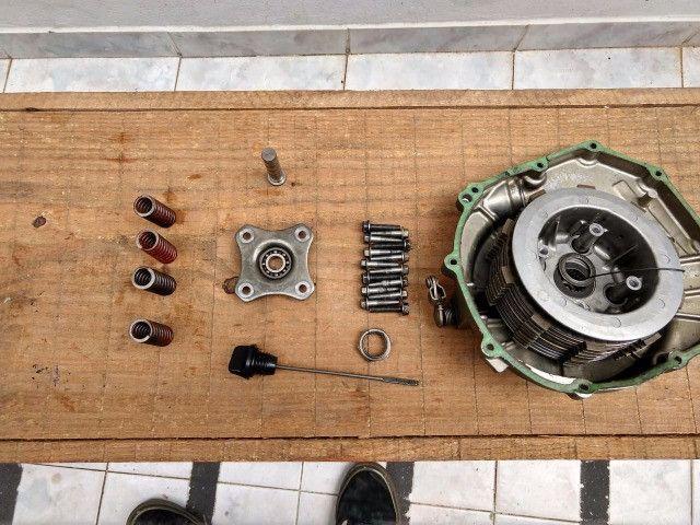 Peças de motor e cambio Hornet carburada 2007 - Leia o descritivo - Foto 19