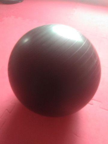 Corda naval 10 m + semi bola busu pilates + bola pilates(vazia)  - Foto 2