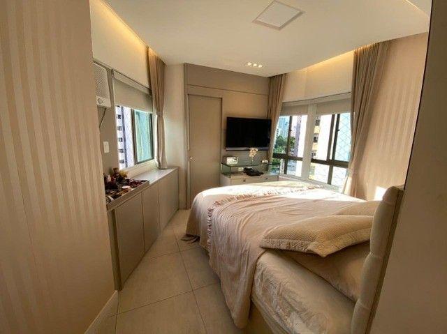 Edf Via Tazolli Setubal/129m/3 suites/capa de revista/luxo/3 vagas/lazer. - Foto 14