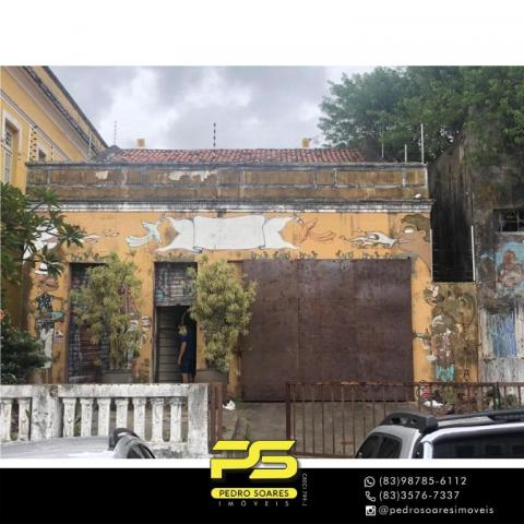 Galpão à venda, 514 m² por R$ 260.000 - Centro - João Pessoa/PB