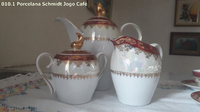 Jogo de Café porcelana Schmidt - Foto 3
