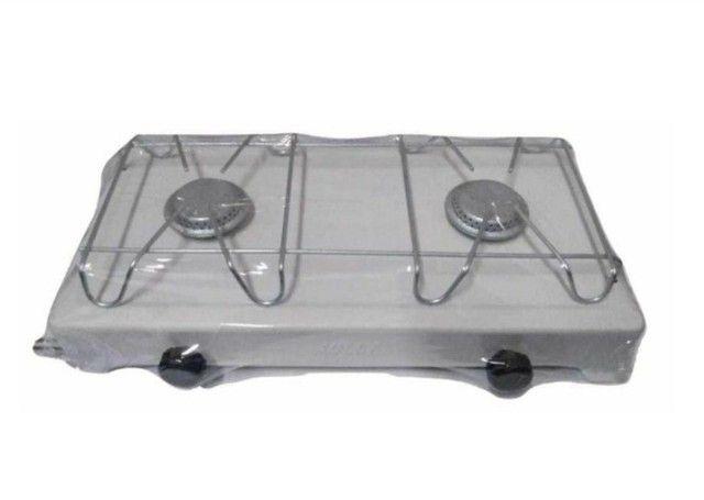 fogão de mesa 2 bocas (gás) - Foto 2