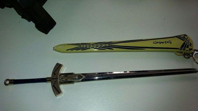 pingente espada cheveiro..22 cm - Foto 5