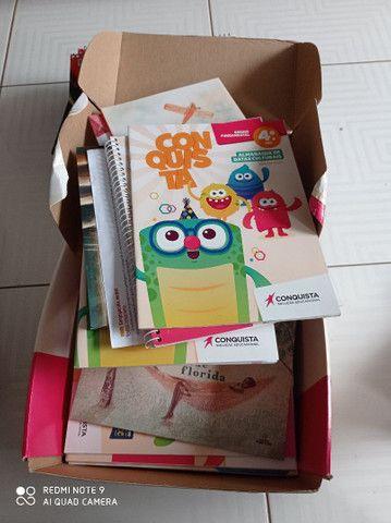 Livros  da editora conquista solução educacional - Foto 3