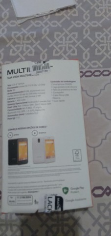 Smartphone multlaser f p 9131 Dourado - Foto 2