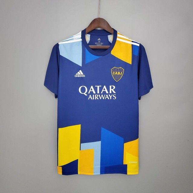 Camisa do Boca jr Premium