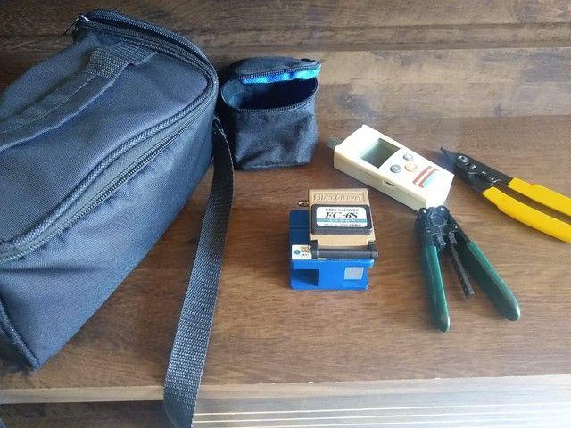 Kit de instalação de fibra optica