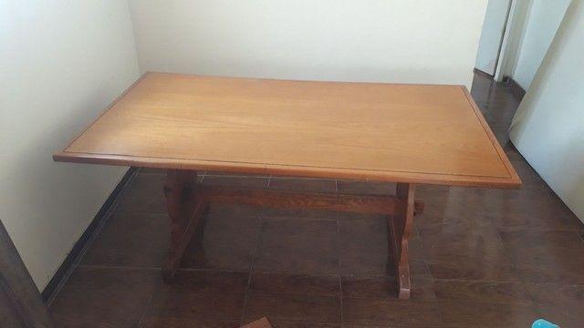 Mesa madeira maciça super nova! - Foto 4