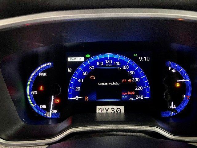 Toyota Corolla Altis Hybrid Blindado Teto Solar Okm Pronta Entrega - Foto 10