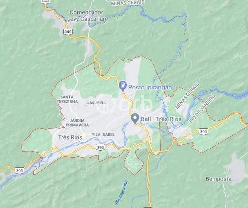 Terreno à venda com 1 dormitórios em Centro, Três rios cod:OG1606 - Foto 5