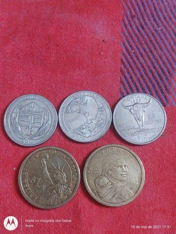 Moedas de Dólares Comemorativas