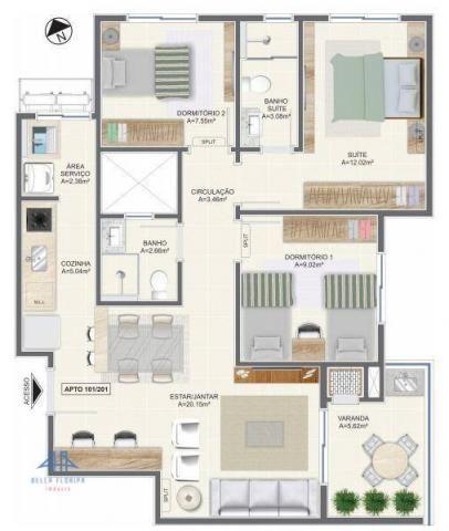 Apartamento residencial à venda, campeche, florianópolis. - Foto 8