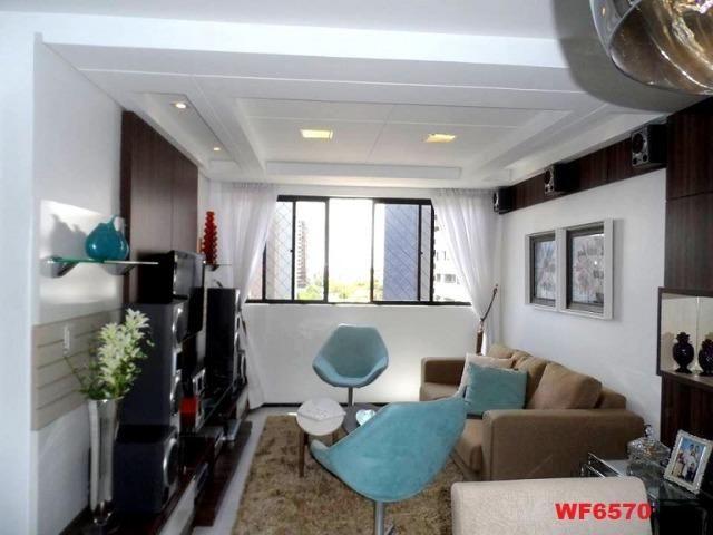 Cygnus, apartamento 3 quartos, 2 vagas, próximo Whashington Soares, Luciano Cavalcante - Foto 4