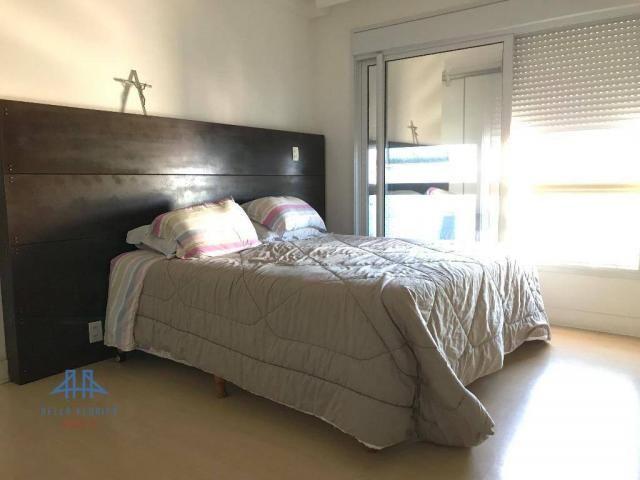 Amplo apartamento mobiliado no joão paulo com linda vista para o mar, 3 suítes, sacada e 3 - Foto 11