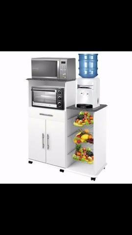 Balcão para forno Microondas e Fruteira