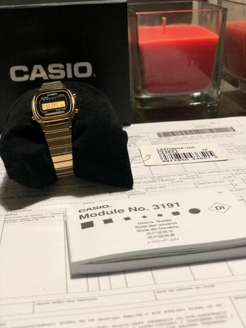619c649728a Relógio feminino Casio Digital Retro - Original - Bijouterias ...
