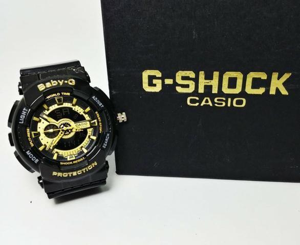 44a19d2d4b9 Relógio Feminino G Shock Baby - Bijouterias