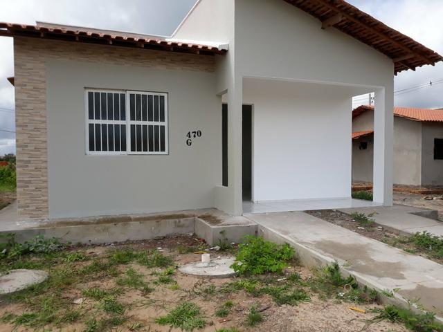 Casa em ALTOS-PIAUÍ sem entrada com leves prestações