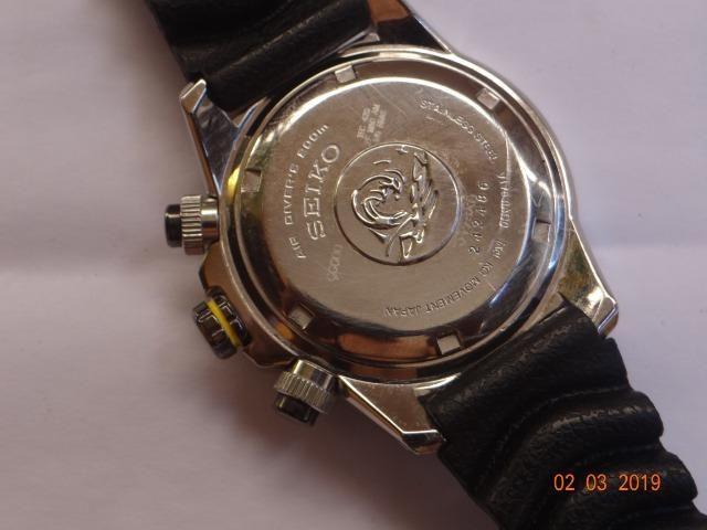 58844647d66 Seiko Solar Cronógrafo Diver s V175AB 8 - Bijouterias