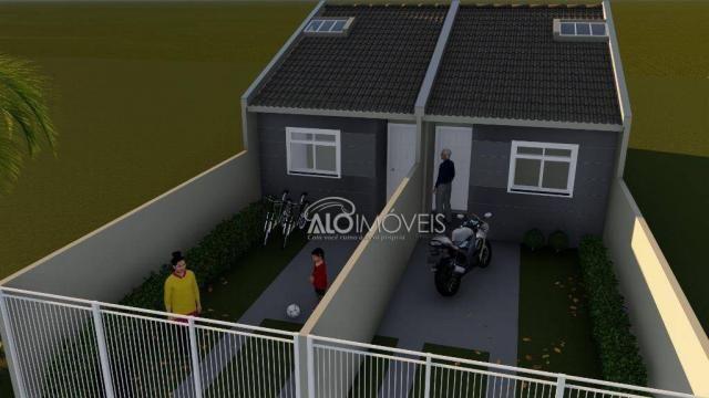 Casa com 2 dormitórios à venda, 41 m² por r$ 160.000 - campo de santana - curitiba/pr - Foto 4