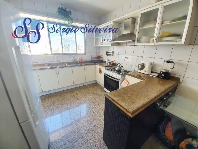 Apartamento na Aldeota com 4 suítes todas com closet, amplo e ventilado, nascente 4 vagas - Foto 5