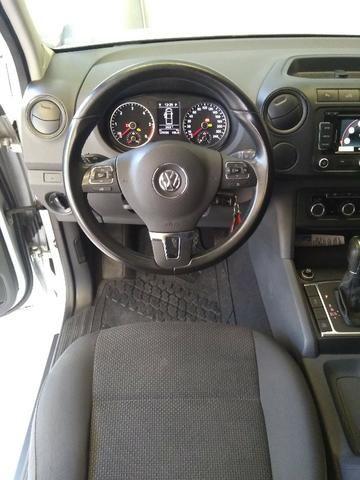 Amarok 2014 Trendline 4x4 CD Diesel Automatica - Foto 5