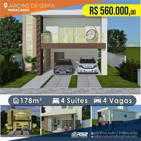 Casa Duplex Jardins da Serra - 4 Quartos - 4 Vagas - Foto 7