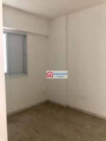 Apartamento com 2 dormitórios à venda, 53 m² por r$ 250.000,00 - vila tatetuba - são josé  - Foto 5