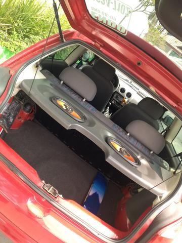 Celta GM Chevrolet vermelho - abaixo tabela - Foto 5