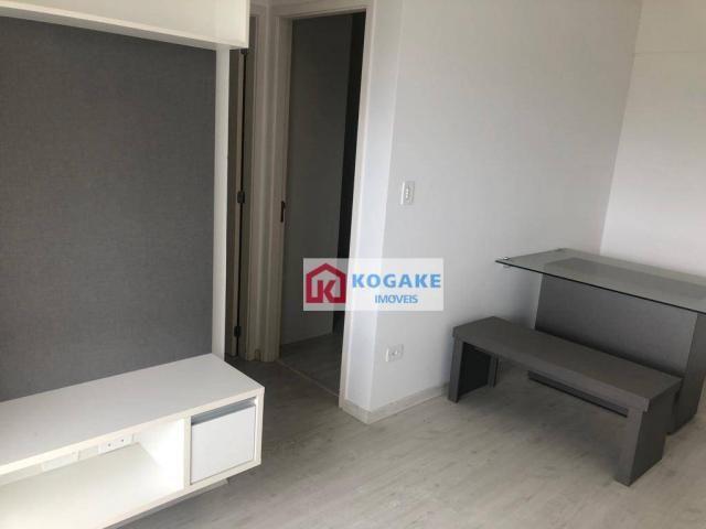 Apartamento com 2 dormitórios à venda, 53 m² por r$ 250.000,00 - vila tatetuba - são josé  - Foto 3