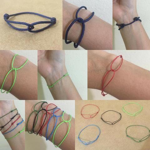 Pulseira Bracelete Infinito - Foto 6