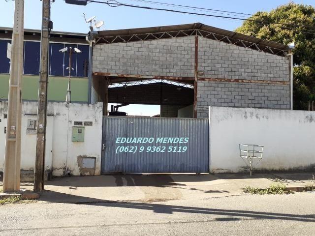 Galpão coberto, lote 360 m² em Aparecida de Goiânia, boa localização - Foto 13