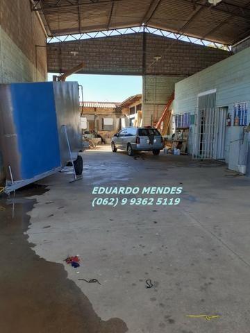 Galpão coberto, lote 360 m² em Aparecida de Goiânia, boa localização - Foto 4