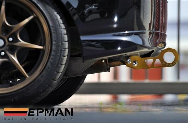 Reboque Engate Esportivo Jdm (tow Hook) Traseiro Azul Epman - Foto 4
