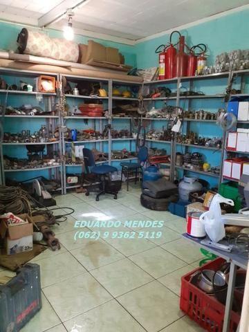 Galpão coberto, lote 360 m² em Aparecida de Goiânia, boa localização - Foto 9