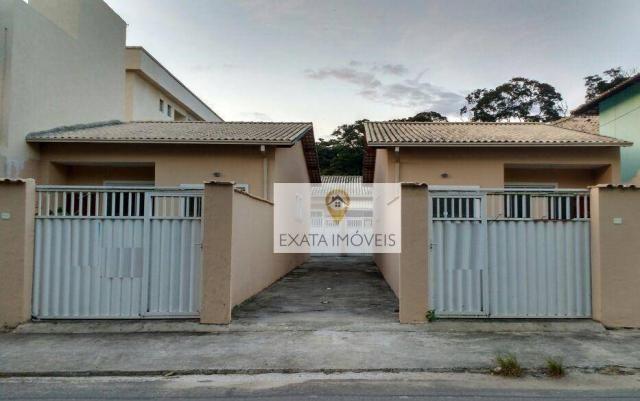 Casas lineares independentes, Extensão do Bosque, Rio das Ostras.