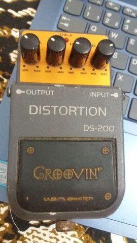 Pedal Groovim Distortion DS-200
