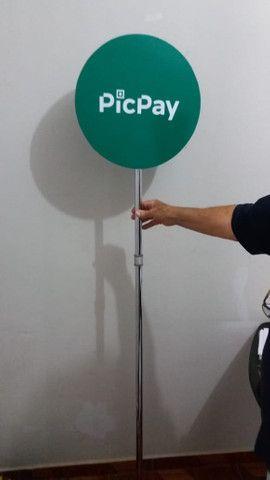 Placa pirulito para campanha política menor preço do mercado