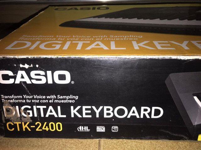 Teclado Cassio Ctk-2400 - Foto 3