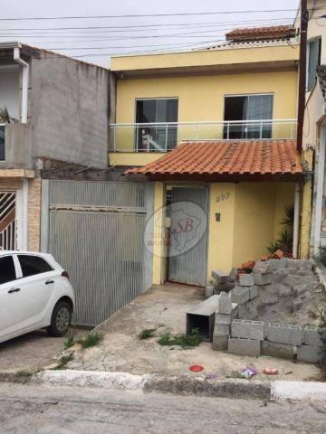 Sobrado com 3 dormitórios para alugar, 159 m² por R$ 3.000/mês - Serpa - Caieiras/SP
